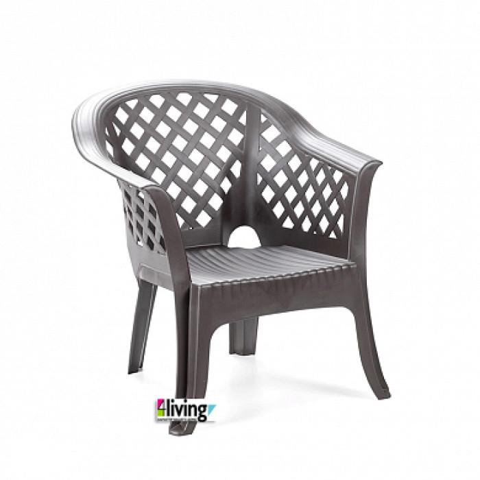 Составной стул Lario Antracite для улицы и сада