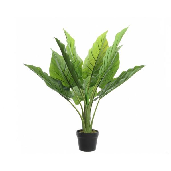 Искусственное растение Philodendron в горшке, 73x74 см