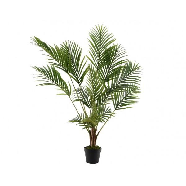 Большое искусственное растение Archontophoenix в горшке, 125 см