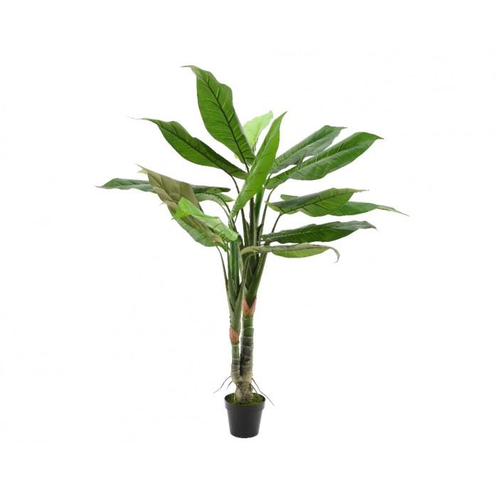 Большое искусственное растение Aglaonema в горшке, 30x120 см