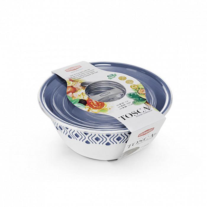 Набор мисок для продуктов с крышкой Tosca