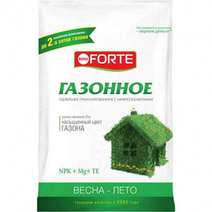 Bona Forte Удобрение комплексное гранулированное с микроэлементами Газонное (весна)