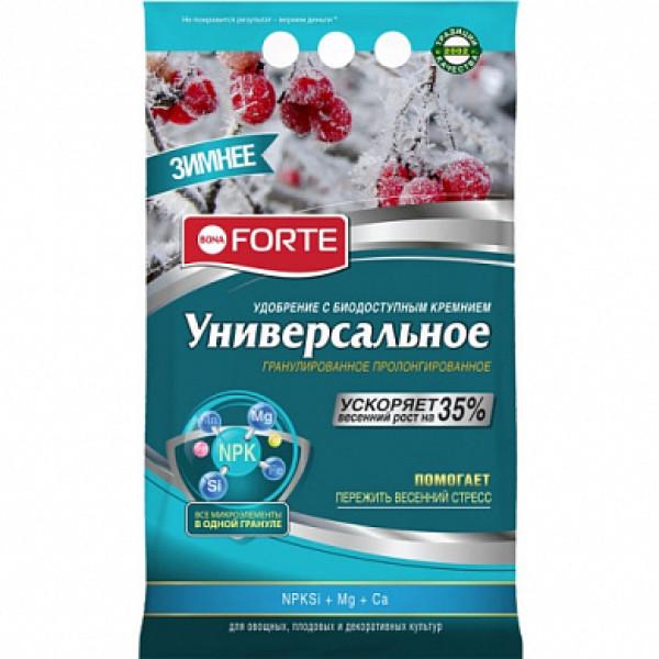 Bona Forte Удобрение гранулированное пролонгированное Универсальное зима с биодоступным кремнием
